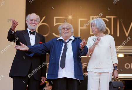 Georges Lautner Director Georges Lautner, centre, gestures as he arrives for the screening of The Paperboy at the 65th international film festival, in Cannes, southern France