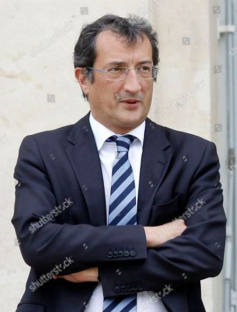 Francois Lamy New Minister for Urban Matters Francois Lamy poses after weekly cabinet meeting with President Francois Hollande, at the Elysee Palace in Paris