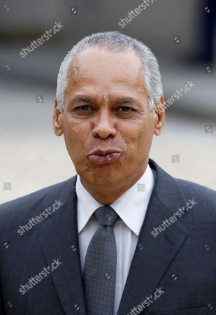 Victorin Lurel Newly named Overseas Territories minister Victorin Lurel arrives for the first weekly cabinet meeting with President Francois Hollande, at the Elysee Palace in Paris