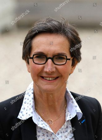 Valerie Fourneyron Newly named Sports Minister Valerie Fourneyron arrives for the first weekly cabinet meeting with President Francois Hollande, at the Elysee Palace in Paris