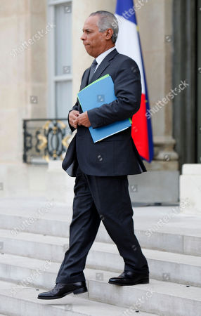 Victorin Lurel New Overseas Territories minister Victorin Lurel leaves after the first weekly cabinet meeting chaired by new President Francois Hollande, at the Elysee Palace in Paris