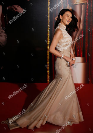 Gao Yuanyuan Chinese actress Gao Yuanyuan smiles on the red carpet of the 31st Hong Kong Film Awards in Hong Kong