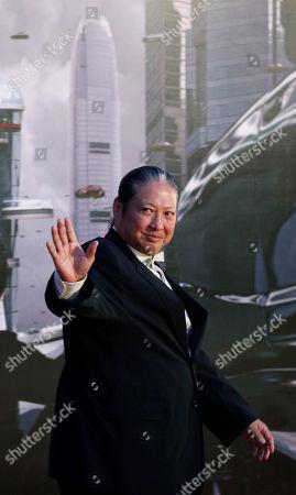 Sammo Hung Hong Kong director Sammo Hung poses on the red carpet of the 31st Hong Kong Film Awards in Hong Kong