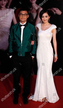Sean Yue, Mini Yang Hong Kong actor Sean Yue, left and Chinese actress Mini Yang pose on the red carpet of the 31st Hong Kong Film Awards in Hong Kong