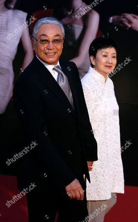 Kenneth Tsang Hong Kong actor Kenneth Tsang poses on the red carpet of the 31st Hong Kong Film Awards in Hong Kong