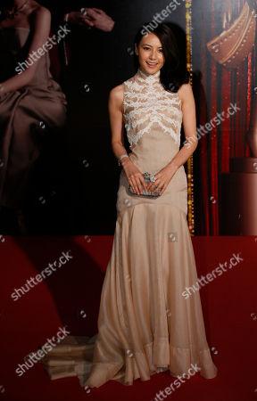 Gao Yuanyuan Chinese actress Gao Yuanyuan poses on the red carpet of the 31st Hong Kong Film Awards in Hong Kong