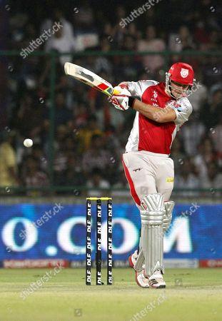 David Hussey Kings XI Punjab's David Hussey bats during an Indian Premier League (IPL) cricket match against Delhi Daredevils in New Delhi, India