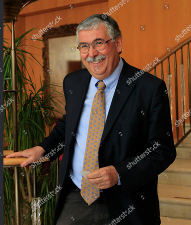 Italian journalist Gian Antonio Stella attends the journalism prize event 'E' Giornalismo' in Milan, Italy, Thursday, March, 22, 2012