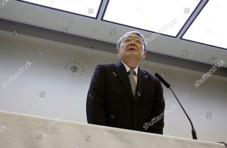 Toshio Nishizawa Tokyo Electric Power Co. President Toshio Nishizawa speaks during a news conference at the company's head office in Tokyo after a public bailout was approved, . The government approved a 1 trillion yen ($12.5 billion) public bailout for the operator of Japan's tsunami-devastated Fukushima Dai-ichi nuclear power plant and put it under temporary state control