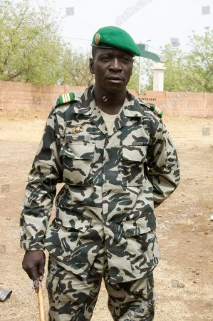 Amadou Haya Sanogo Coup leader Capt. Amadou Haya Sanogo poses for a picture at a military camp in Bamako, Mali. The whereabouts of Mali's president Amadou Toumani Toure were unknown Friday, a day after mutinous soldiers declared a coup, raising fears and prompting uncertainty in a West African nation that had been one of the region's few established democracies