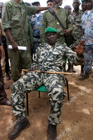 Amadou Haya Sanogo Coup leader Capt. Amadou Haya Sanogo is seen in a military camp in Bamako, Mali. The whereabouts of Mali's president Amadou Toumani Toure were unknown Friday, a day after mutinous soldiers declared a coup, raising fears and prompting uncertainty in a West African nation that had been one of the region's few established democracies
