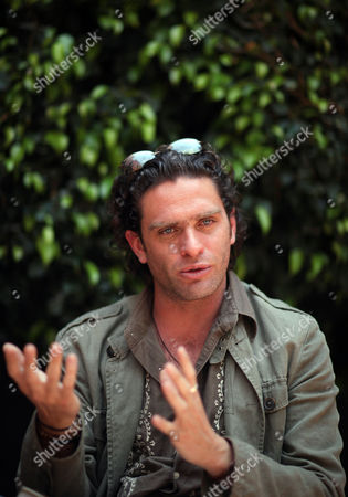 "Stock Picture of Mexico's film Director Everardo Gout speaks during an interview about his movie ""Dias de Gracia"" or ""Days of Grace"" in Mexico City, . The movie premieres on Friday in Mexico City"