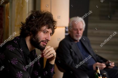 "Alejandro Jodorowsky, Adan Jodorowsky Adan Jodorowsky, left and Chilean writer and filmmaker Alejandro Jodorowsky, attend a news conference in Mexico City, . Adan Jodorowsky is in Mexico promoting his concert "" The Death of Amador "" on March 9, accompanied with his father"