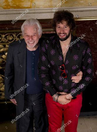 Alejandro Jodorowsky, Adan Jodorowsky Chilean writer and filmmaker Alejandro Jodorowsky, left, and his son, French born-Chilean musician and performer Adan Jodorowsky, pose for pictures during a press conference in Mexico City, . Adan will perform in concert in Mexico City on March 9