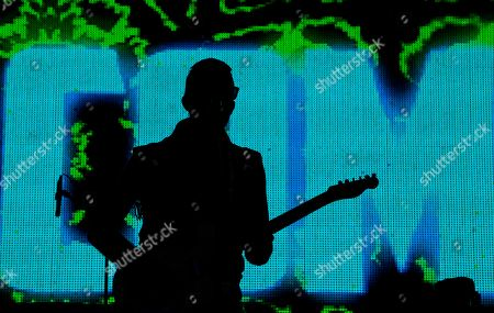 Emmanuel Horvilleur of Illia Kuriaki performs during the Vive Latino Festival, in Mexico City