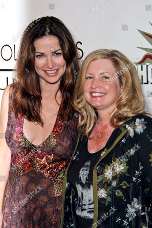 Kim Delaney and Mother