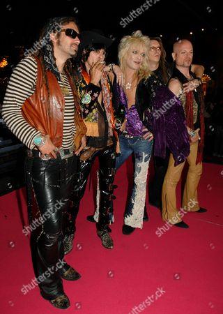 Hanoi Rocks - Conny Bloom, Andy McCoy, Michael Monroe, Lacu, Andy Christell