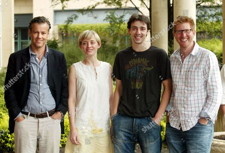 Rupert Graves, Anne Marie Duff, Ralf Little and Roger Goldby promote 'The Waiting Room'