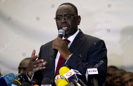 Macky Sall Senegalese president-elect Macky Sall speaks to the press after President Abdoulaye Wade conceded defeat, in Dakar, Senegal in the early hours of . Wade conceded defeat to his former protege Sall late Sunday, congratulating him several hours after polls closed when preliminary results showed the opposition candidate had trounced the 85-year-old incumbent