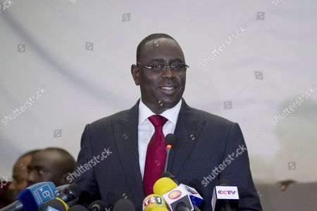 Macky Sall Senegalese president-elect Macky Sall smiles as he greets the press after incumbent President Abdoulaye Wade called him to concede, in Dakar, Senegal in the early hours of . Wade conceded defeat to his former protege Sall late Sunday, congratulating him several hours after polls closed when preliminary results showed the opposition candidate had trounced the 85-year-old incumbent