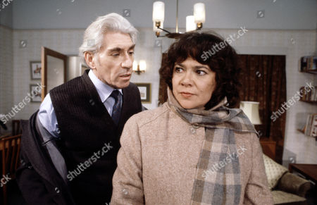Heather Sears and Frank Finlay in 'Tales Of The Unexpected'  Episode: 'There's One Born Every Minute'