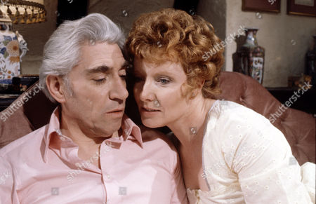 Stock Picture of Jo Rowbottom and Frank Finlay in 'Tales Of The Unexpected'  Episode: 'There's One Born Every Minute'