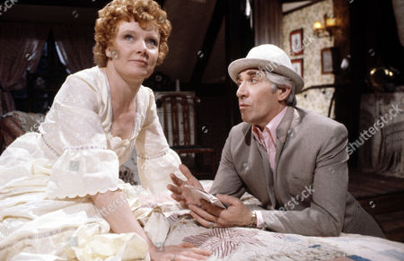 Jo Rowbottom and Frank Finlay in 'Tales Of The Unexpected'  Episode: 'There's One Born Every Minute'