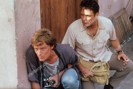 Iain Glen (left) and Alan David Lee in 'Frankie's House'