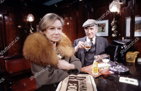 Joan Greenwood  and Nat Jackley  in 'Tales Of The Unexpected' Episode: 'Bosom Friends'
