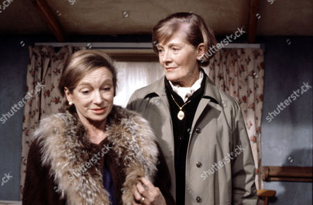 Joan Greenwood (left) and Rachel Kempson  in 'Tales Of The Unexpected' - Episode: 'Bosom Friends'