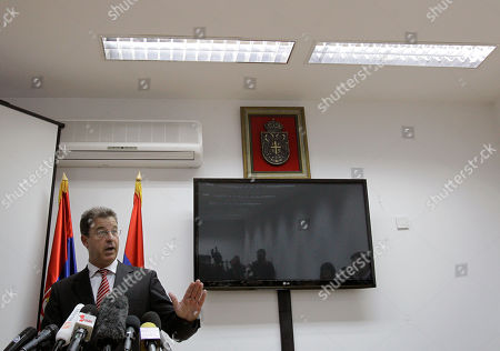 Serge Brammertz Serge Brammertz, chief U.N. war crimes prosecutor for former Yugoslavia speaks during a press conference in the special court in Belgrade, Serbia, . Brammertz says evidence errors that postponed Ratko Mladic's trial are of limited impact and do not warrant a delay of six months as sought by the defense