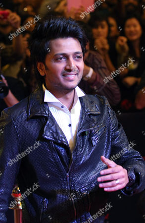 Bollywood actor Riteish Deshmukh arrives for Bollywood's film Housefull 2 world premiere in Singapore