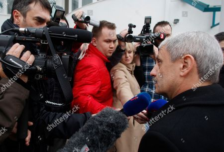 Mikulas Dzurinda Mikulas Dzurinda, chairman of the Slovak Democratic and Christian Union (SDKU) arrives for a TV debate after Slovakia's early general elections in Bratislava, Slovakia, Suinday, . SDKU gained 6.1% of the vote