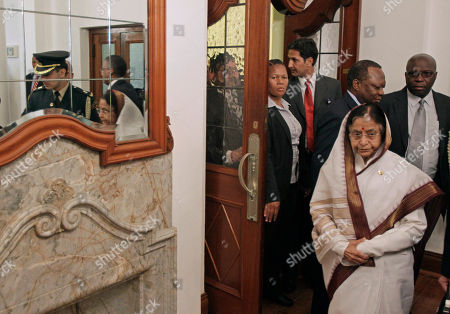Editorial picture of South Africa India President, Cape Town, South Africa