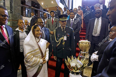 Pratibha Devisingh Patil Members of the South Africa Parliament gather around Indian President Pratibha Patil, third left, as she visits Parliament in Cape Town, South Africa, . Patil is on an official state visit to the country