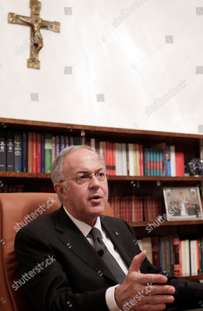 Carl Anderson Carl Anderson, Member of the Board of Superintendence of the Vatican bank (I.O.R., Institute for Religious Operas) speaks during an interview in Rome, . Ettore Gotti Tedeschi, head of the Vatican bank (I.O.R., Institute for Religious Operas) was ousted after a no-confidence vote of the Vatican bank I.O.R. governing body on Thursday, May 24, 2012