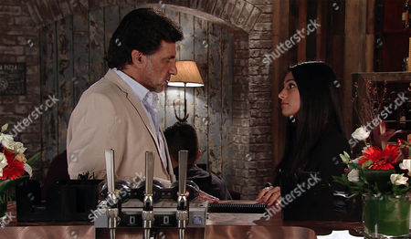 Under pressure from Alya Nazir, as played by Sair Khan, to cough up the money for her Underworld designs, Sharif Nazir, as played by Marc Anwar, is up against it but Sonia further adds to his worries when she makes it clear that she still expects him to get her a place to live too. Sharif is at a loss as to where he will find the funds to appease both women, until he comes up with an idea... (Ep 8999 - Monday 26th September 2016)