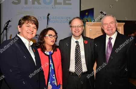 Editorial photo of Opening of Arvalee School and Resource Centre, Omagh, Northern Ireland, UK - 26 Oct 2016