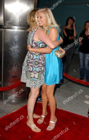 Carly Schroeder and Virginia Madsen