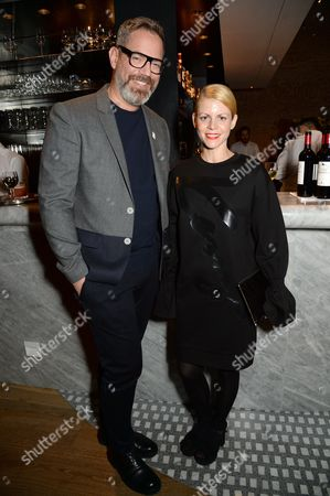 Editorial picture of Alexandra Shulman's launch party for 'Inside Vogue: A Diary of My 100th Year' at Fucina, London, UK - 26 Oct 2016