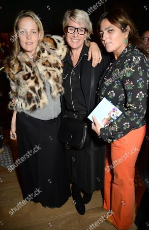 Bay Garnett, Fiona Golfar and Solange Azagury-Partridge