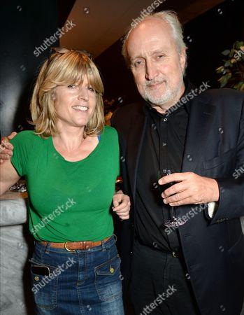 Rachel Johnson with Nick Allott