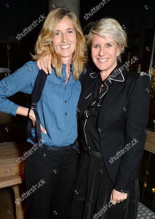 Charlotte Sinclair and Fiona Golfar
