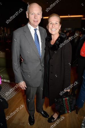 Stock Photo of Jo Levin with guest