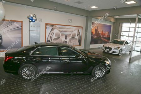 Editorial picture of 2017 Genesis G90 First Customer, Austin, USA - 20 Oct 2016
