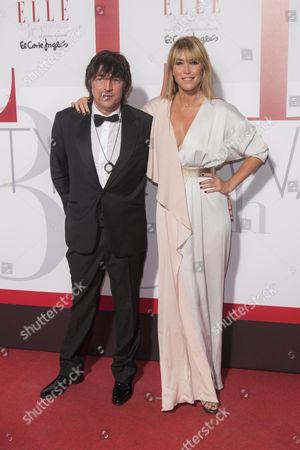 Raquel Merono and guest