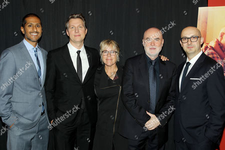 Abhijay Parakash (COO Focus Features), Jeff Nichols (Director), Sarah Green, Ged Doherty, Peter Kujawski (CEO Focus Features)