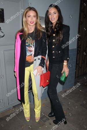 Andrea Hegard and Lily Fortescue