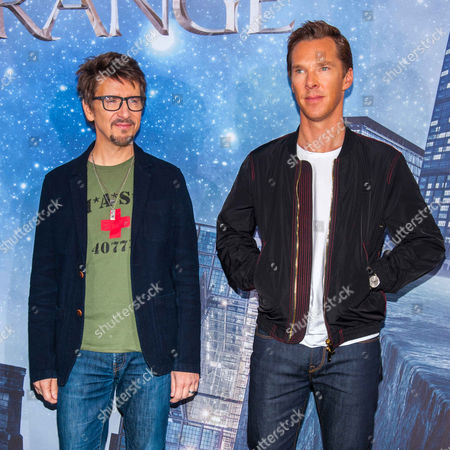 Stock Photo of Scott Derrickson, Benedict Cumberbatch