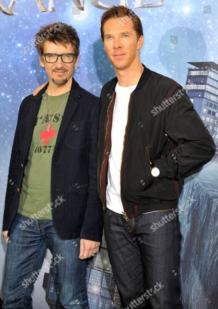 Scott Derrickson and Benedict Cumberbatch